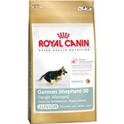 German Shepherd Junior Royal Canin корм для щенков, До 15 месяцев, Немецкая овчарка, Пакет, 12,0кг фото