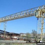 Кран козловой ЗРМЗМ-20-32. Для обслуживания складов железобетонных изделий и конструкций фото