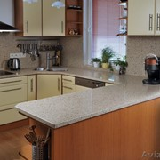 Кухонные столешницы из агломерат кварца фото