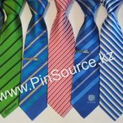 Галстуки с логотипом, корпоративные галстуки фото