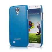 Крышка Icarer Back Cover для Samsung i9500 Galaxy S 4, синяя фото