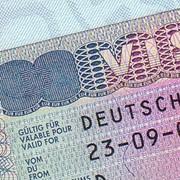 Виза в Германию.Гостевая. фото