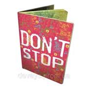 Обложка для автодокументов Don't Stop фото