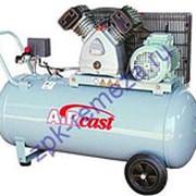 Компрессор поршневой 500 л/мин, 9 бар, 3 кВт. 380 В, ресивер 50 л. фото