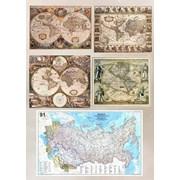 Печать карт друк мап карта мира географическая фото