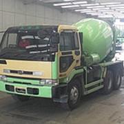 Автобетоносмеситель Nissan Truck кузов CW53AHH г 1997 миксер грузоподъемность 9,84 тн пробег 375 т.км фото