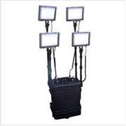 Световая установка (LED прожектор) мобильная SL-4 (38A/h) фото