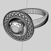 3D моделирование ювелирных изделий фото