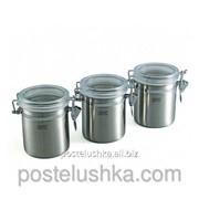 Набор из 3 шт банок для хранения продуктов, Gipfel, арт. 5584 фото