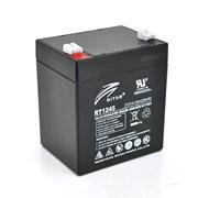 Аккумуляторная батарея AGM RITAR RT1245B, Black Case, 12V 4.5Ah ( 90 х 70 х 101 (107) ) Q10 фото