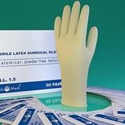 Перчатки хирургические стерильные н/о анатомия текстура размер 8,5 (d 280-290 см) фото