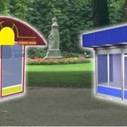 Строительство киоски для торговли, ларьки, форм (МАФ), помещения предназначенные для розничной торговли фото