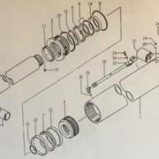 Ремкомплект цилиндра стрелы Kato 32933190001 NK200 фото