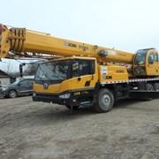 Услуги крана автомобильного XCMG. 25 тонн. фото