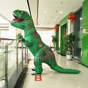 Надувной костюм динозавра тираннозавра фото