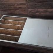 Керновые ящики (5-ячеек 100х100 мм) Производство. фото