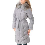 Куртка пуховик серый Арт.7098V фото