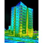 Тепловизионный контроль качества тепловой защиты многоэтажных зданий. фото