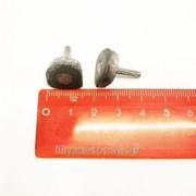 Набойка металлическая со штырем 12*14 мм фото