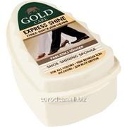 Губка для обуви Gold Care Express Shine фото