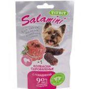 Лакомство Salamini для собак мелких и средних пород с говядиной Titbit 40 г фото
