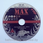Круг отрезной 125x1.6x22,2 A60S TOP, GF MAX, Италия фото