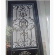Услуга изготовление кованых дверей фото