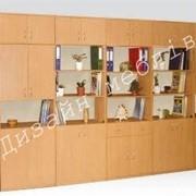 0693 Стінка для кабінета 4413х403х2186 фото