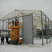 Монтаж металлических конструкций фото