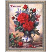 """Картина стразами """"Прекрасные розы"""" АЖ-1349 фото"""