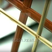 Золотой Y на декор-профиль на стеклопакет 8 мм фото