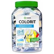 Таблетки для посудомоечных машин Colorit 5 в 1 фото