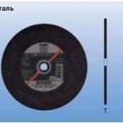 Шлифовально-отрезные круги для стац. применения Производительная линия SG-ELASTIC, CHOPSAW Сталь фото