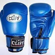 Перчатки боксерские CLUB (FLEX) синие 4 OZ фото
