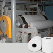 Бумага - основа для туалетной бумаги из макулатуры (до 70% белизны) фото
