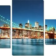 Модульная картина Нью Йорк 2 , Неизвестен фото