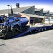 Полуприцеп со скошенной грузовой площадкой KPS фото