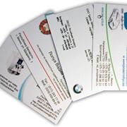 Стандартные визитки фото