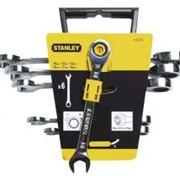 Набор ключей комбинированных с трещеткой STANLEY 4-89-907 фото