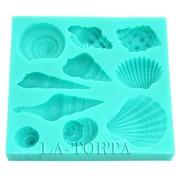 Молд силиконовый Ракушки фото