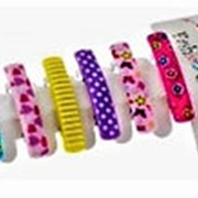 Заколка 492085 BBox LT 1602 автомат пластик для волос микс прямоугольная см_5*1 в уп.6 шт ( цена за 1 уп.) фото