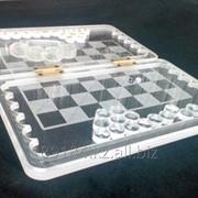 Подарочная игра (шахматы, нарды) фото