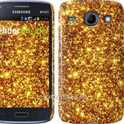 Чехол на Samsung Galaxy Core i8262 Золото 1687c-88 фото