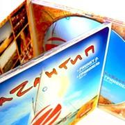 Изготовление индивидуальной упаковки из картона для CD дисков фото