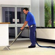 Химчистка офисного ковролина фото