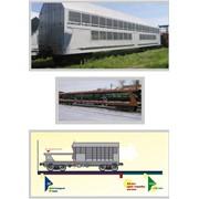 Ремонт и модернизация железнодорожных платформ для перевозки автомобилей модели 13-479 фото