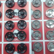Кнопки пришивные металлические №3 в упаковке - 24 шт фото