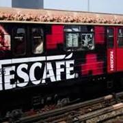 Размещение рекламы на железной дороге фото