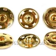 Кнопка метал пришивная 21 мм (1000 штук)другие цвета дешевле фото