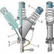 Муфты концевые, Концевые кабельные муфты, Для одножильных кабелей, Для трехжильных экранир, Переходные муфты. фото